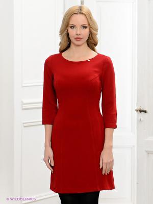 Платье BOVONA. Цвет: красный