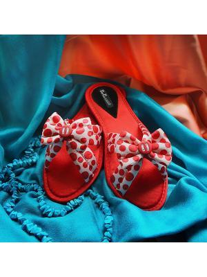 Домашняя обувь Petit Pas. Цвет: красный
