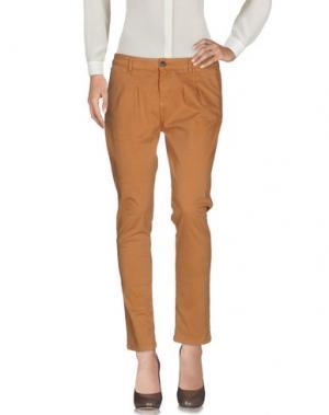 Повседневные брюки ECO. Цвет: верблюжий