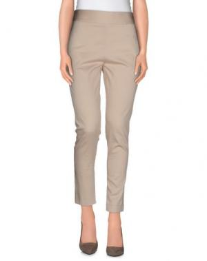 Повседневные брюки LE RAGAZZE DI ST. BARTH. Цвет: бежевый