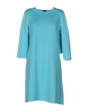 Короткое платье CHARLOTT. Цвет: бирюзовый
