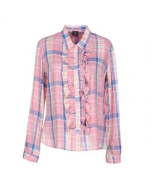 Pубашка GUTTHA. Цвет: розовый