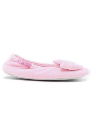 Балеринки Isotoner. Цвет: розовый