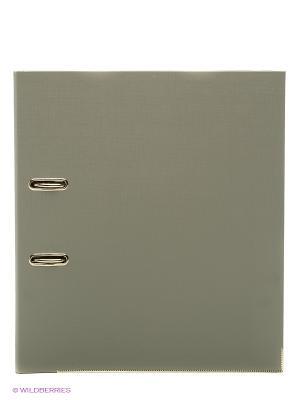 Папка-регистр А4, 5см., серый Centrum. Цвет: серый