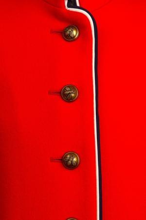 Однобортное красное пальто Gucci Children. Цвет: none