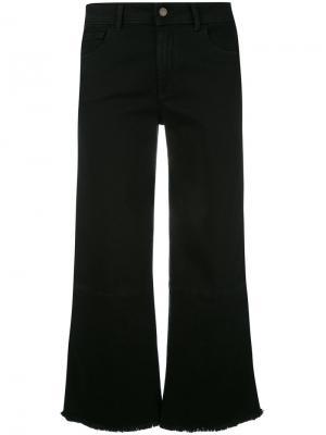 Укороченные брюки The Seafarer. Цвет: чёрный