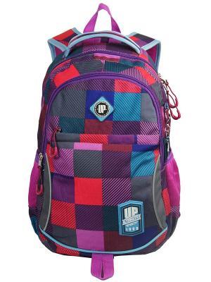 Рюкзак UFO PEOPLE. Цвет: фиолетовый, красный, темно-синий