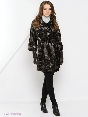 Пальто Socrat. Цвет: коричневый