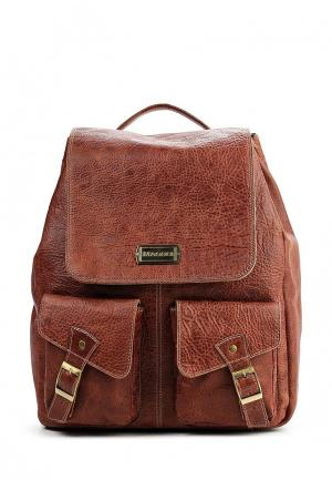 Рюкзак Magoli. Цвет: коричневый