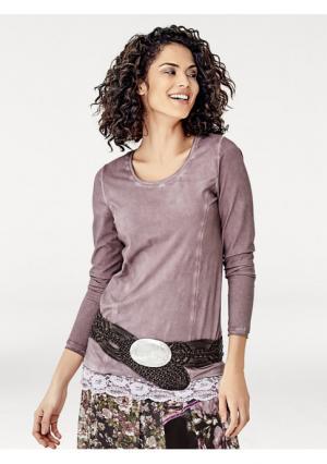 Кофточка Linea Tesini. Цвет: дымчато-розовый