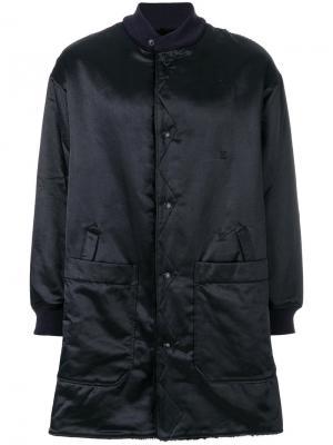 Куртка Liner Engineered Garments. Цвет: синий