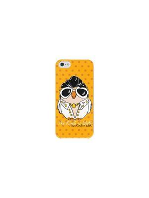 Чехол для iPhone 5C Элвис Пресли Goofi. Цвет: желтый
