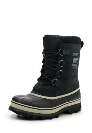 Ботинки Sorel. Цвет: синий