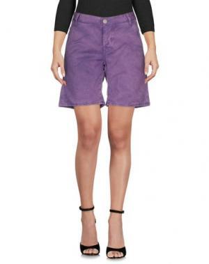 Бермуды 2W2M. Цвет: фиолетовый