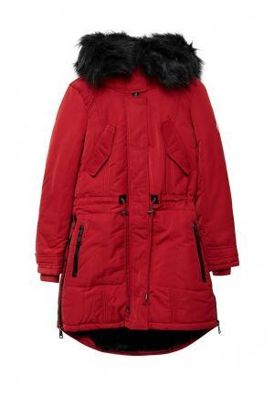 Куртка утепленная Jan Steen. Цвет: красный