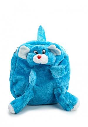 Рюкзак Modis. Цвет: голубой