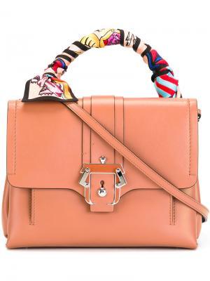 GiGi satchel Paula Cademartori. Цвет: коричневый