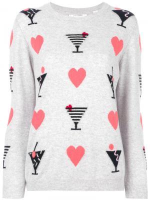 Свитер Cocktail Heart Chinti & Parker. Цвет: серый