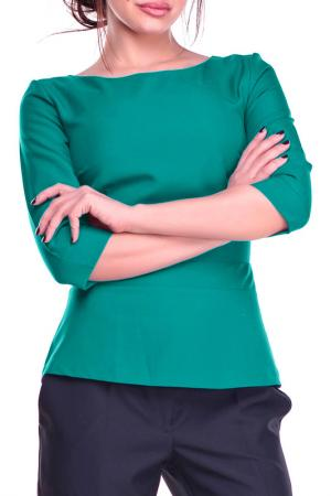Блуза REBECCA TATTI. Цвет: зеленый