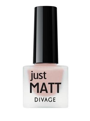 Лак для ногтей JUST MATT тон 5622 DIVAGE. Цвет: розовый