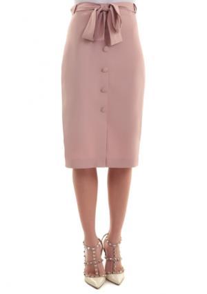Юбка MY STYLE. Цвет: кремовый/розовый