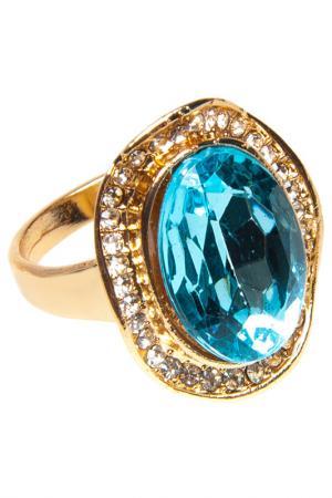 Кольцо BELLA ROSA. Цвет: turquoise