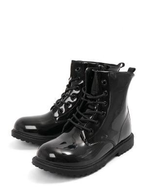 Ботинки VivaKid. Цвет: черный