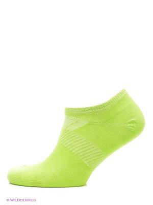 Носки низкие SW-201, 2 пары Starfit. Цвет: зеленый