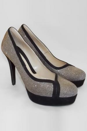 Туфли Albano. Цвет: серебряный