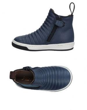 Полусапоги и высокие ботинки JARRETT. Цвет: синий
