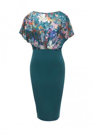 Платье Bestia. Цвет: бирюзовый