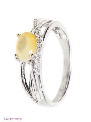 Кольцо BALEX. Цвет: желтый, серебристый