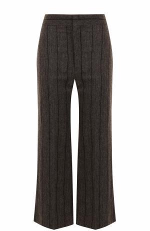 Укороченные расклешенные брюки Isabel Marant. Цвет: серый