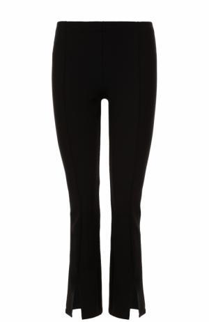 Укороченные брюки с разрезами The Row. Цвет: черный