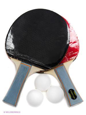 Набор для настольного тенниса Start Up. Цвет: синий, красный, рыжий