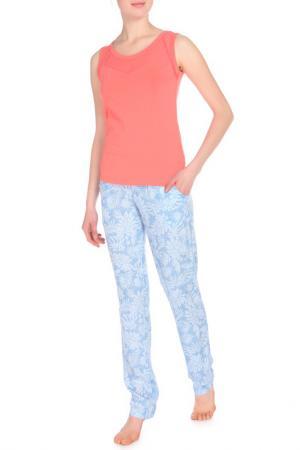 Комплект с брюками Relax Mode. Цвет: тропик