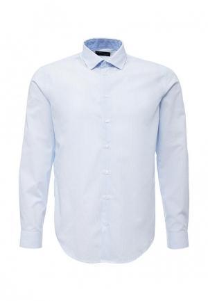 Рубашка Piazza Italia. Цвет: голубой