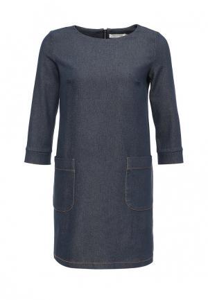 Платье джинсовое Olga Grinyuk. Цвет: серый