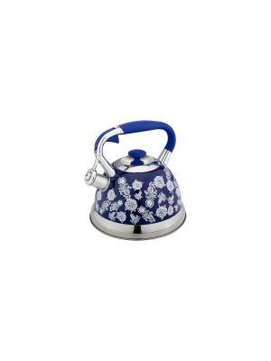 Чайник Bekker. Цвет: синий