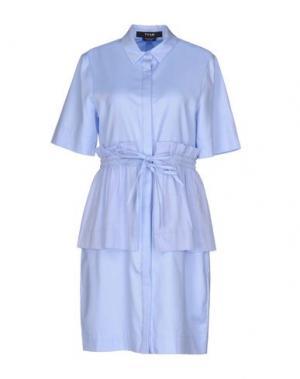 Короткое платье TY-LR. Цвет: небесно-голубой