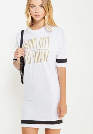 Платье Твое. Цвет: белый