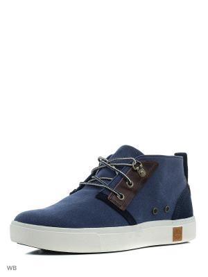 Ботинки TIMBERLAND. Цвет: синий
