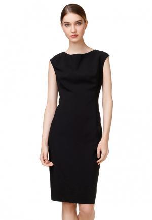 Платье pompa. Цвет: черный