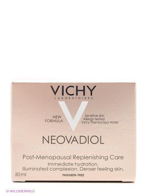 Компенсирующий комплекс крем-уход для нормальной и комбинированной кожи, 50 мл VICHY. Цвет: белый
