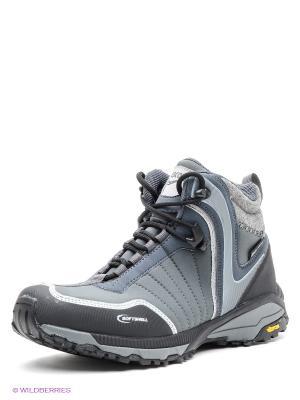 Мембранные ботинки Ascot. Цвет: серый, черный