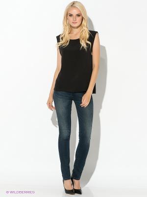 Блузка Calvin Klein. Цвет: антрацитовый
