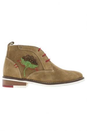 Ботинки Kakadu. Цвет: бежевый