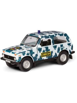 Машина LADA 4x4 ОМОН AUTOTIME. Цвет: белый