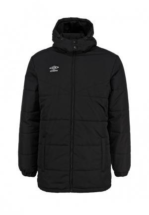 Куртка утепленная Umbro. Цвет: черный