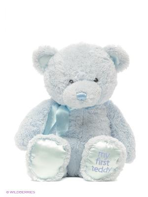 Игрушка мягкая (My First Teddy Large Blue, 45,5 см). Gund. Цвет: голубой